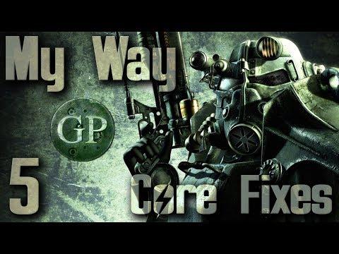 Modding Fallout 3 : My Way : Core Fixes & Stability : 5