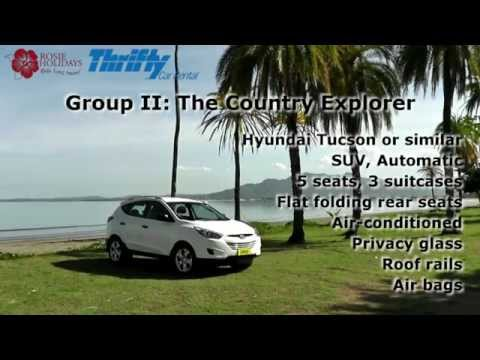 Thrifty Car Rentals Fiji - Group 2