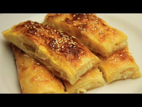 Baklava Phyllo Borek Recipe - Turkish Homemade Cheese Pie