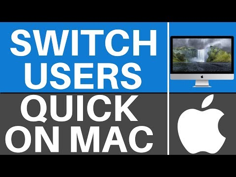 How To Switch Between User Accounts On Mac