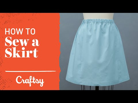 How to Sew a Skirt: Quick & Easy Project | Craftsy Sewing Tutorial