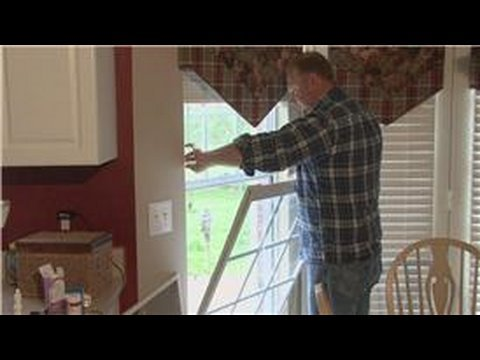 Home Improvement & Maintenance : How to Install Window Screens