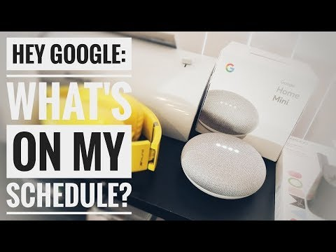 How to Manage Multiple Calendars on Google Home Mini