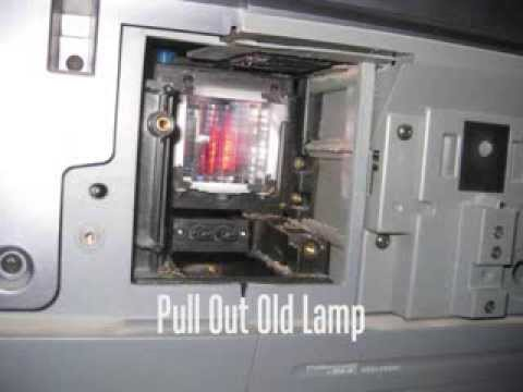 How To Install A Sony TV Lamp