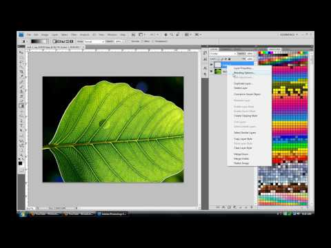 Adobe Photoshop Tutorial : How to make Water Drops