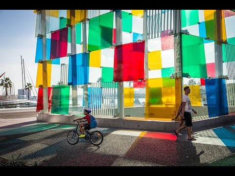 Places to see in ( Andalusia - Spain ) Centre Pompidou Malaga