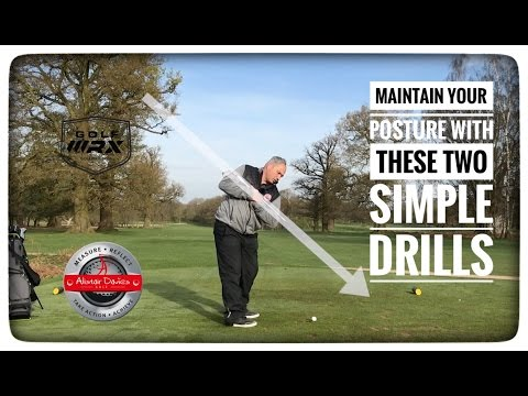 Maintain Your Posture With These Two Simple Drills