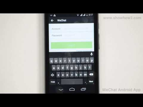 WeChat Android App - How To Login Using Email Id