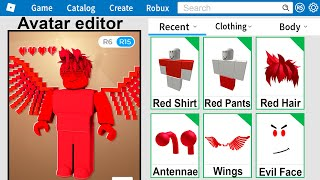 Using only ONE COLOR to make a ROBLOX Account!
