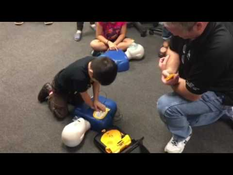 CPR Certification for 6 year old