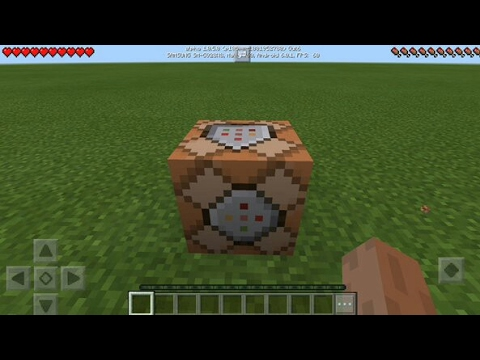 ★ Minecraft PE 1.0.5 Beta Gameplay (COMMAND BLOCK UPDATE)
