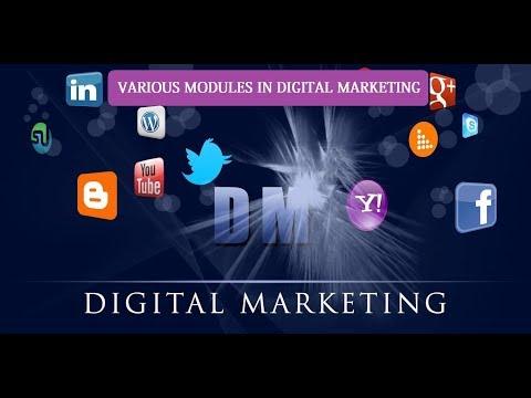 #2 Various Modules in Digital Marketing | Digital Marketing Tutorials for Beginner
