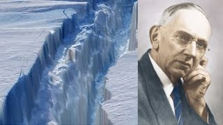 130 km crack spreading across Antarctica, Edgar Cayce foretold it already!