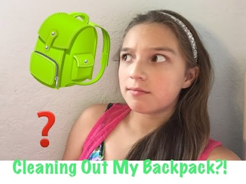 Backpack Clean Out Tag | End Of The Year