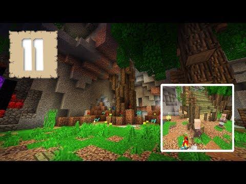 ENCHANTED GARDENS & HIDDEN TEMPLES! - Survival Let's Play Ep.11 - Minecraft 1.2