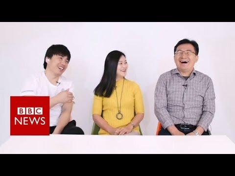 North Korean defectors answer 'stupid questions' - BBC News