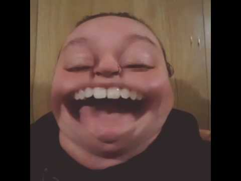 Big mouth snapchat filter!!!
