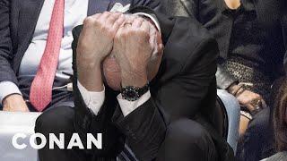 John Kelly Looked Uncomfortable During Trump's UN Speech  - CONAN on TBS