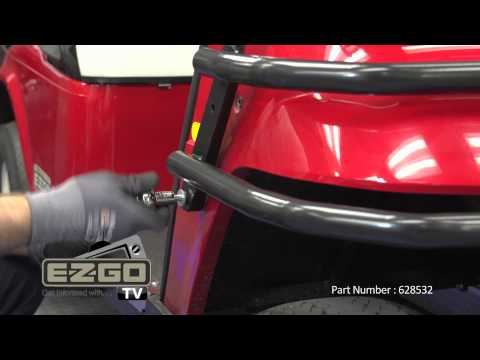 How to Install an E-Z-GO TXT/Medalist Front Brushguard