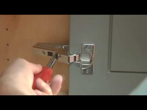Inset Cabinet Door Concealed Hinge Adjustment Guide by Dura Supreme Cabinetry