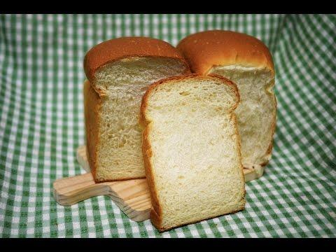 手揉 鮮奶 吐司 麵包 make white bread loaf toast by hand (12兩吐司模1條)