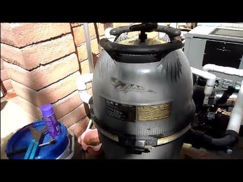 Cleaning a Jandy-Zodiac Cartridge Filter
