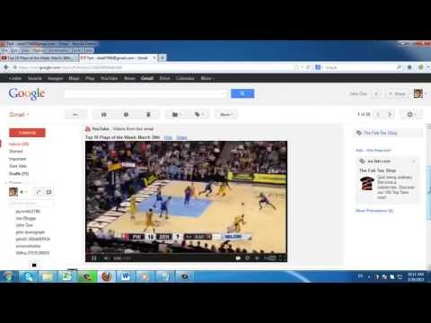 How to Embed YouTube Video in Email