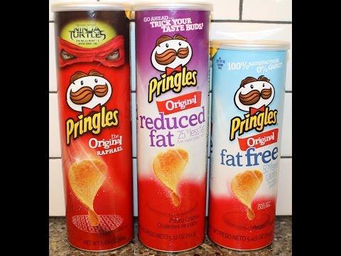 Pringles: Original, Reduced Fat & Fat Free Blind Taste Test