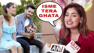 Karishma Sharma's Reaction On Her Isme Tera Ghata Song | Gajendra Verma