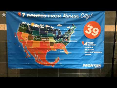 Frontier Airlines adds four new non-stop destinations from KCI