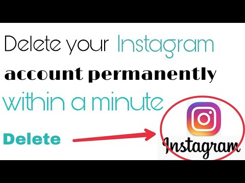 Delete your Instagram account permanently | with in a minute