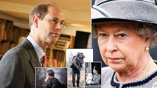 The Queen who was livid with Prince Edward for quitting the Marines