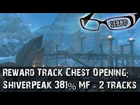 Shiverpeak Mountains Region Reward Track 2 sPVP. Magic find 381%!