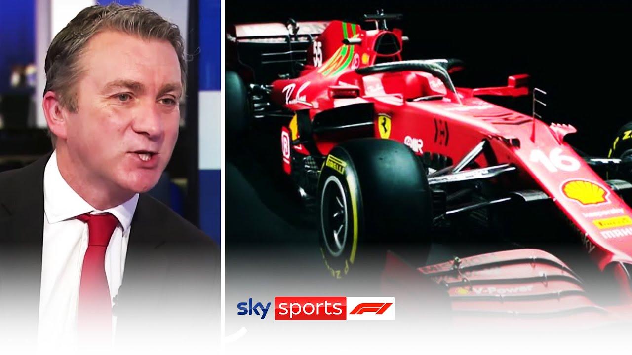 Reacting to Ferrari's new SF21 F1 Car for 2021 🏎️💨