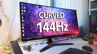 "Amazing Curved 34"" Gaming Monitor BUT... Should You Avoid It?"