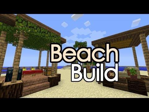 Minecraft Beach Hut / Shack, RV Build