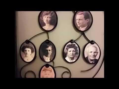 Upcycled Family Tree