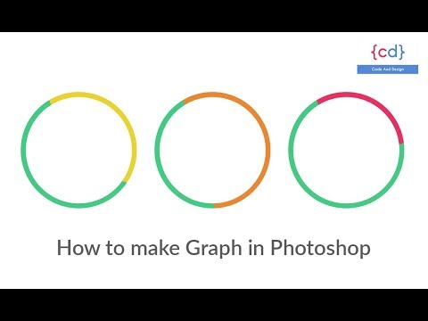 Graph in Photoshop | InfoGraphic Tutorial in Photoshop | pie chart