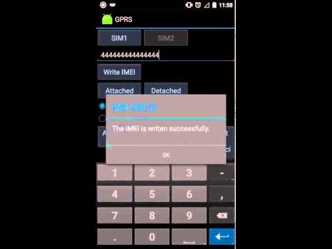 HOW TO CHANGE IMEI DOOGEE X5 ( MTK6580 )