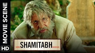 Amitabh tells about his downfall | Shamitabh | Movie Scene
