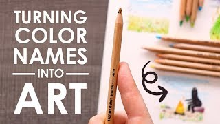 Download DRAWING THE COLOR NAMES - Paletteful Pack Unboxing & Challenge Video