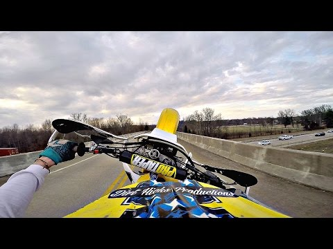FEBRUARY DUAL SPORT RIDING - DRZ400 - FINDING BALANCE POINT & MISCELLANEOUS FUN