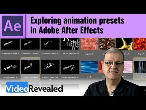 Exploring Animation Presets in Adobe After Effects