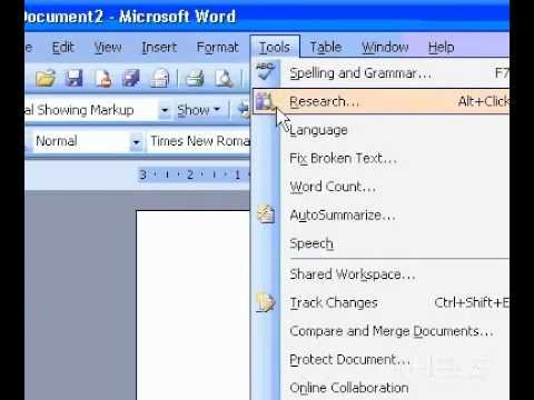 Microsoft Office Word 2003 Hide tracked changes and comments when printing