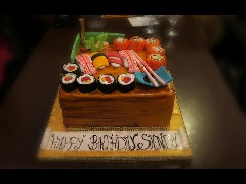 Two Cake One Wedding - Sushi Cake Delight
