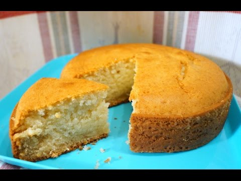 Eggless Basic Sponge Cake (Everlasting Softness) - in Tamil