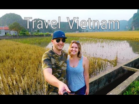 VIETNAM TRAVEL - Ho Chi Minh City, Hanoi, Halong Bay, Tam Coc (GoPro)