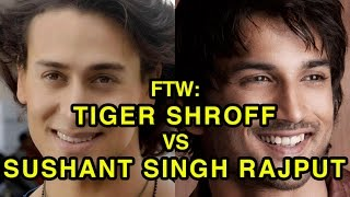 For The Win: Tiger Shroff vs Sushant Singh Rajput