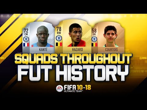 CHELSEA FA CUP WINNERS 2018 THROUGHOUT FUT HISTORY! - FIFA 10-18 ULTIMATE TEAM