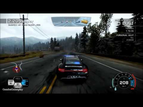 Need for Speed: Hot Pursuit Gameplay (PS3) Chaser
